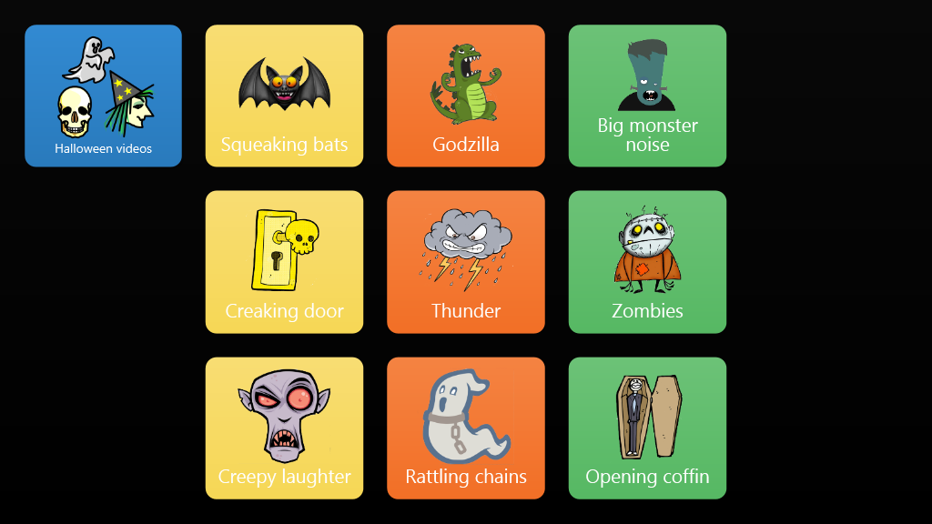 Halloween Spooky Soundboard - Online Grids
