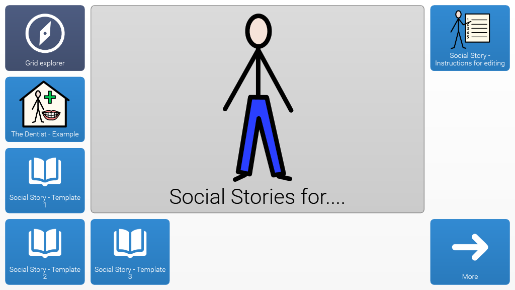 Social Stories Template Online Grids