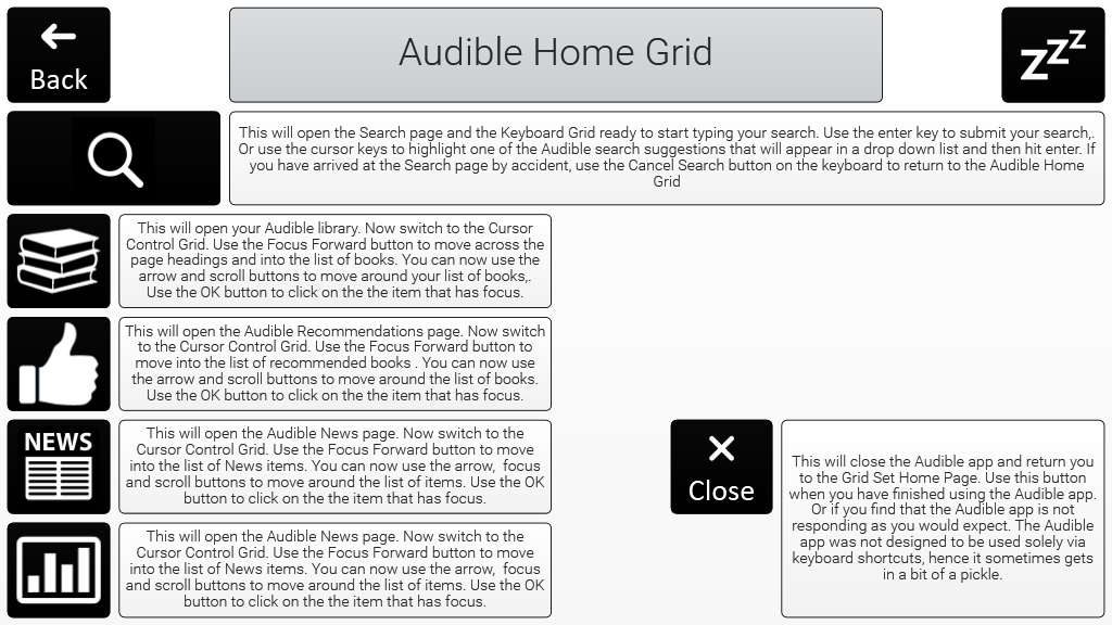 Open Audible App